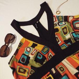Heart Soul Geo Print Dress